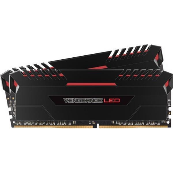 Corsair Vengeance Led Red DDR4 2666MHz 2x8GB (CMU16GX4M2A2666C16R)
