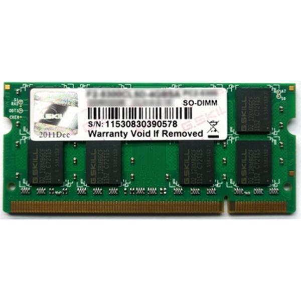G.Skill Standard DDR2 800MHz 2GB (F2-6400CL5S-2GBSQ)