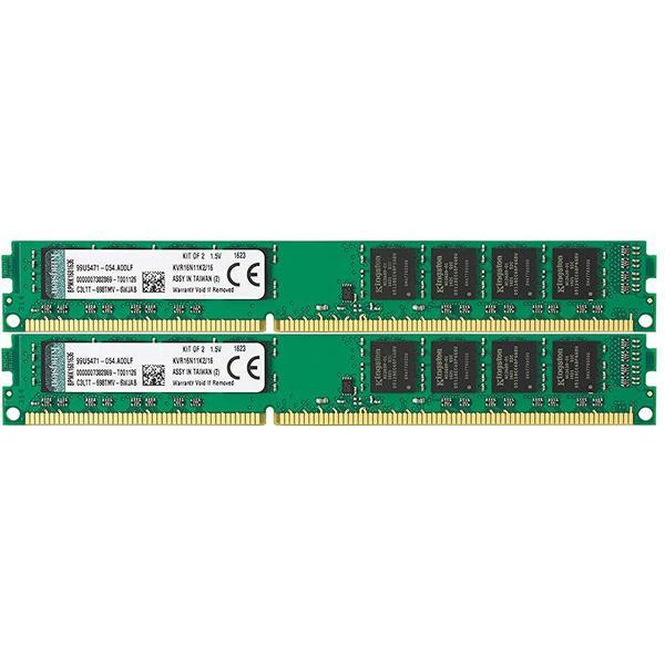 Kingston Valueram DDR3 1600MHz 2x8GB System Specific (KVR16N11K2/16)