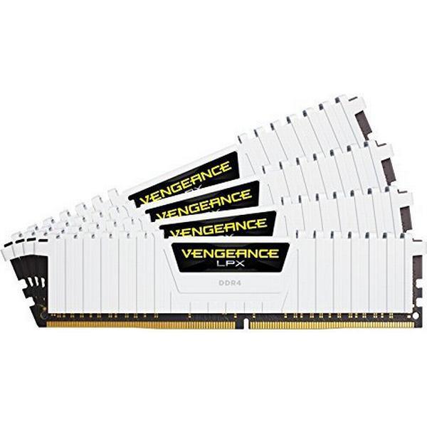 Corsair Vengeance LPX White DDR4 2666MHz 4x8GB (CMK32GX4M4A2666C16W)