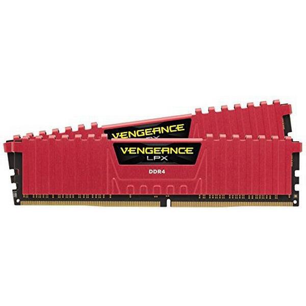 Corsair Vengeance LPX Red DDR4 3000MHz 2x16GB (CMK32GX4M2B3000C15R)