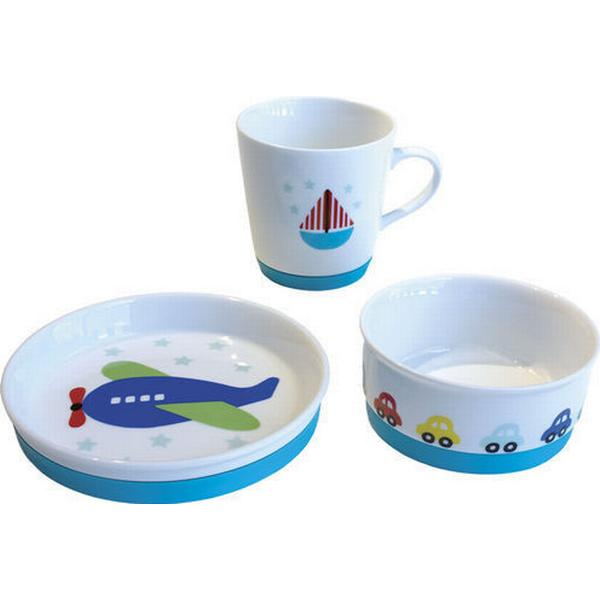 Jabadabado Airplane Porcelain Dinnerware