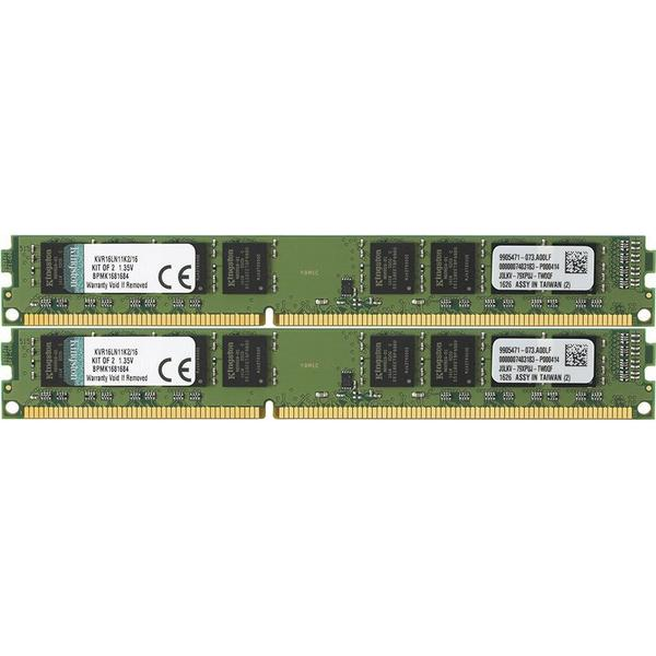 Kingston Valueram DDR3L 1600MHz 2x8GB System Specific (KVR16LN11K2/16)