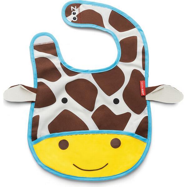 Skip Hop Zoo Tuck Away Baby Bib Jules Giraffe
