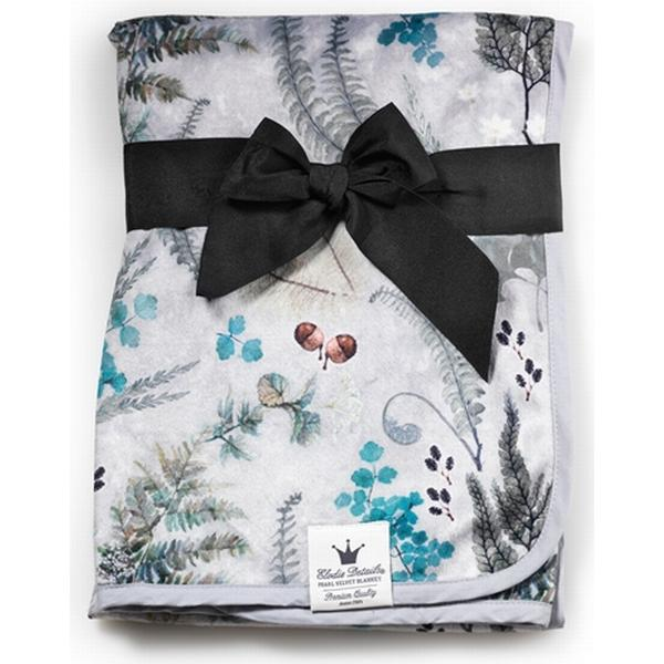 Elodie Details Pearl Velvet Blanket Forest Flora