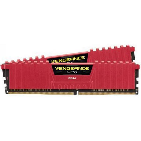 Corsair Vengeance LPX Red DDR4 2400MHz 2x16GB (CMK32GX4M2A2400C14R)