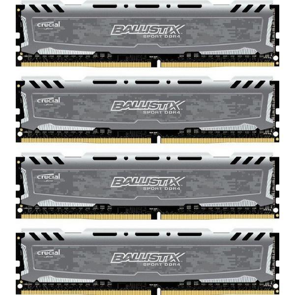 Crucial Ballistix Sport LT DDR4 2400Hz 4x8GB (BLS4C8G4D240FSB)
