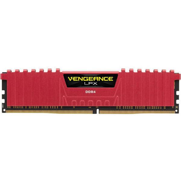 Corsair Vengeance LPX Red DDR4 3600MHz 4x8GB (CMK32GX4M4B3600C16R)