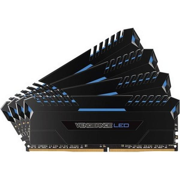 Corsair Vengeance LED Blue DDR4 3000MHz 4x16GB (CMU64GX4M4C3000C15B)