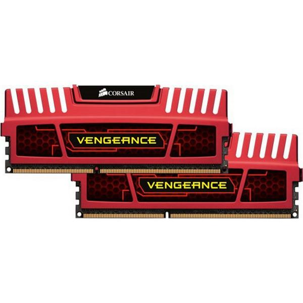 Corsair Vengeance Red DDR3 1600MHz 2x4GB (CMZ8GX3M2A1600C9R)