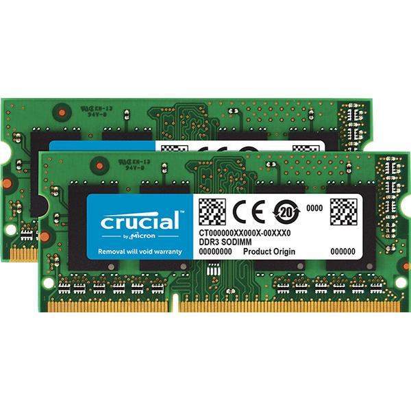 Crucial DDR3 1866MHz 2 x 4GB (CT2KIT51264BF186DJ)