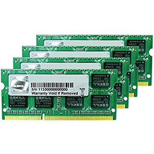 G.Skill DDR3 1333MHz 4x8GB For Apple Mac (FA-1333C9Q-32GSQ)