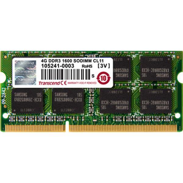 Transcend JetRAM DDR3 1600MHz 4GB (JM1600KSN-4G)
