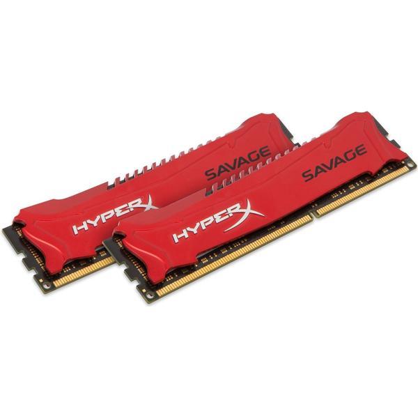 HyperX Savage DDR3 1866MHz 2x4GB (HX318C9SRK2/8)