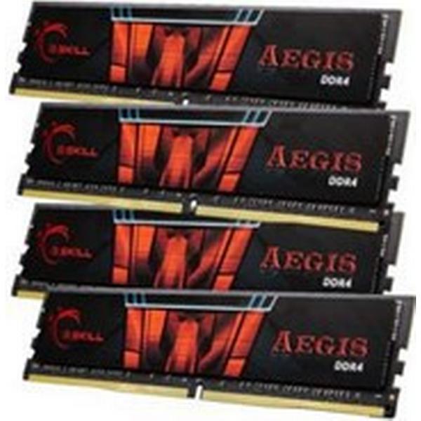 G.Skill Aegis DDR4 2400MHz 4x4GB (F4-2400C15Q-16GIS)