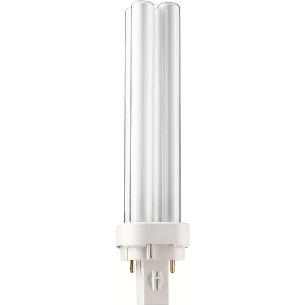 Philips Master PL-C Xtra Fluorescent Lamp 18W G24D-2 840
