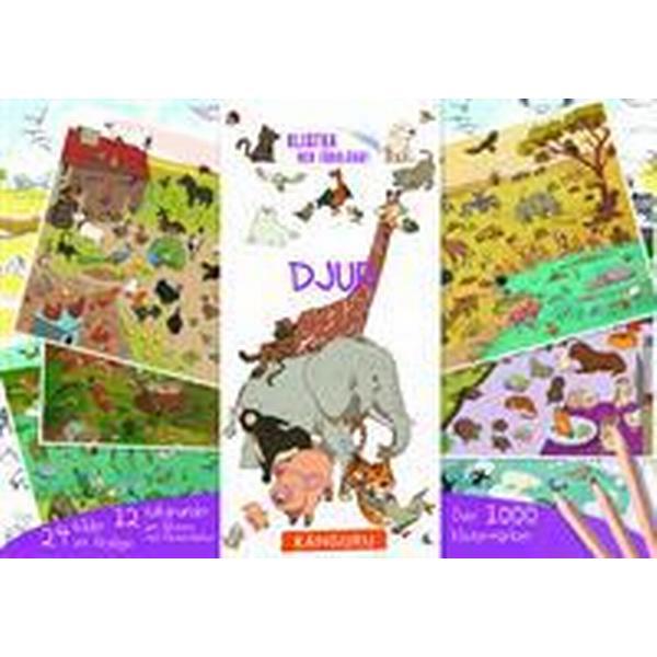 Djur - klistra och färglägg!: innehåller över 1 000 klistermärken (Häftad, 2014)