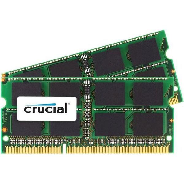 Crucial DDR3 1600MHz 2x8GB for Mac (CT2C8G3S160BMCEU)