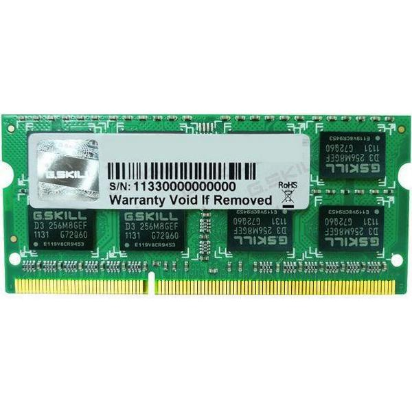 G.Skill DDR3 1600MHz 4GB For Apple Mac (FA-1600C11S-4GSQ)