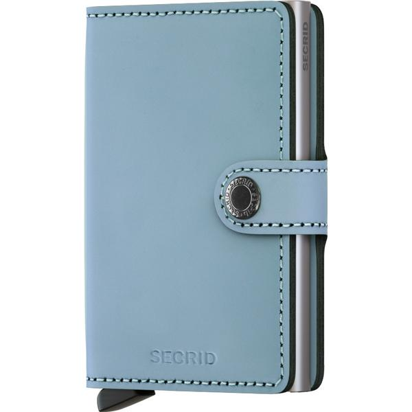 Secrid Mini Wallet - Matte Blue