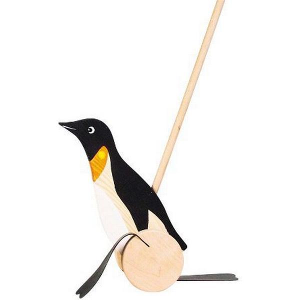 Goki Penguin Push Along Animal