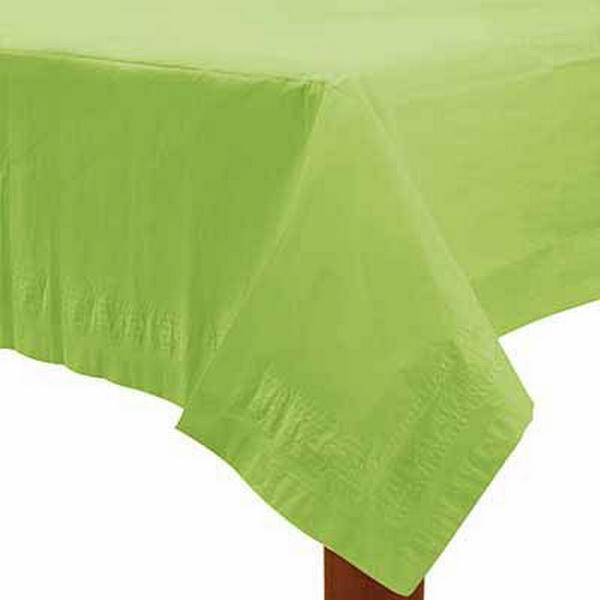 Amscan Paper Table Covers Kiwi Green Disposable Dinnerware (57115-53)
