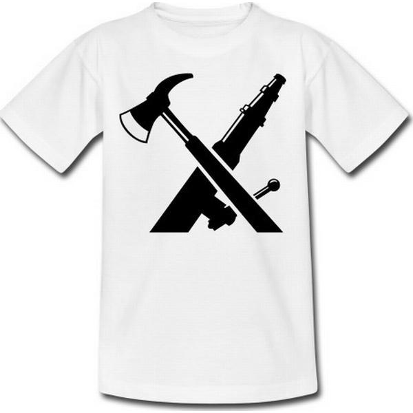 Spreadshirt Brandv¾sen Firefighter Ax Fire oekse Slange T-shirts,Boerne-T-shirt