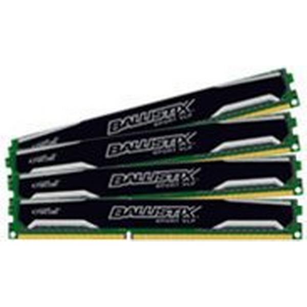 Crucial Ballistix Sport DDR3 1600MHz 4x4GB (BLS4C4G3D1609ES2LX0BEU)