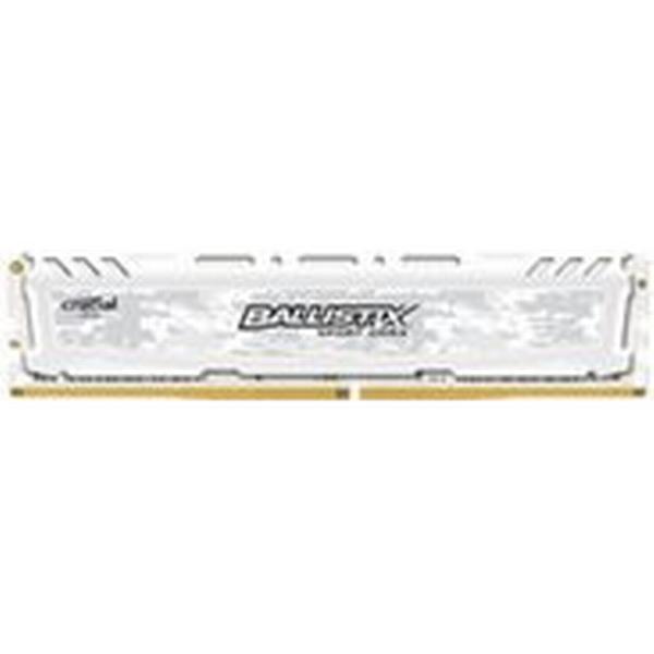 Crucial Ballistix Sport LT White DDR4 2400MHz 16GB (BLS16G4D240FSC)