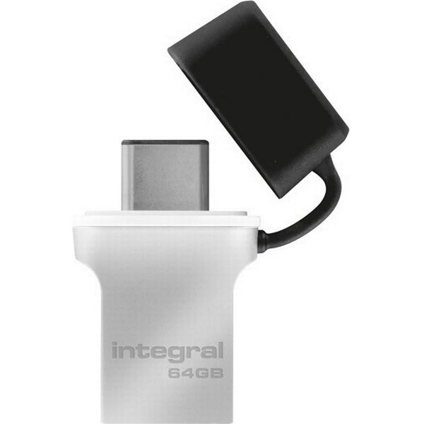 Integral Fusion 64GB USB 3.0 Type-A/Type-C