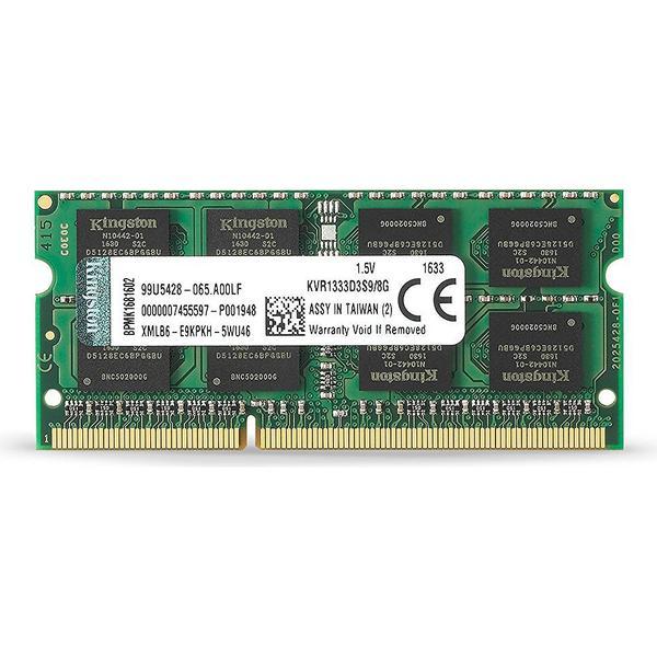 Kingston Valueram DDR3 1333MHz 8GB (KVR1333D3S9/8G)