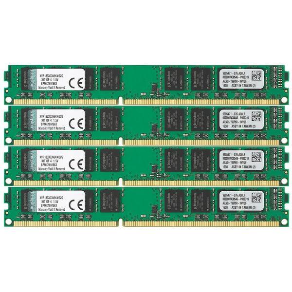 Kingston Valueram DDR3 1333MHz 4x8GB System Specific (KVR1333D3N9K4/32G)