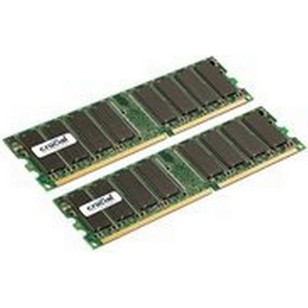 Crucial DDR 333MHz 2x1GB (CT2KIT12864Z335)