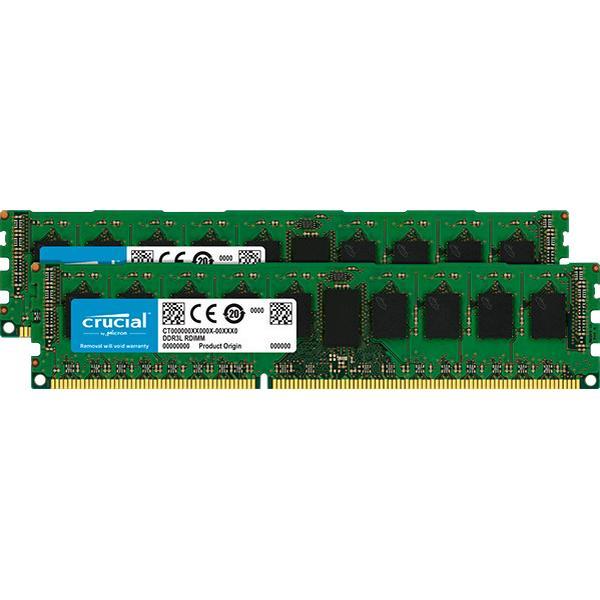 Crucial DDR3L 1600MHz 2x8GB ECC (CT2KIT102472BD160B)