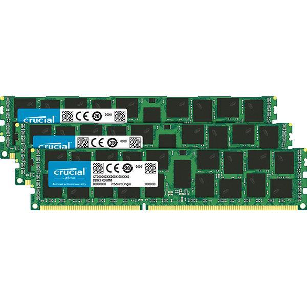 Crucial DDR3 1866MHz 3x16GB ECC Reg(CT3K16G3ERSDD4186D)