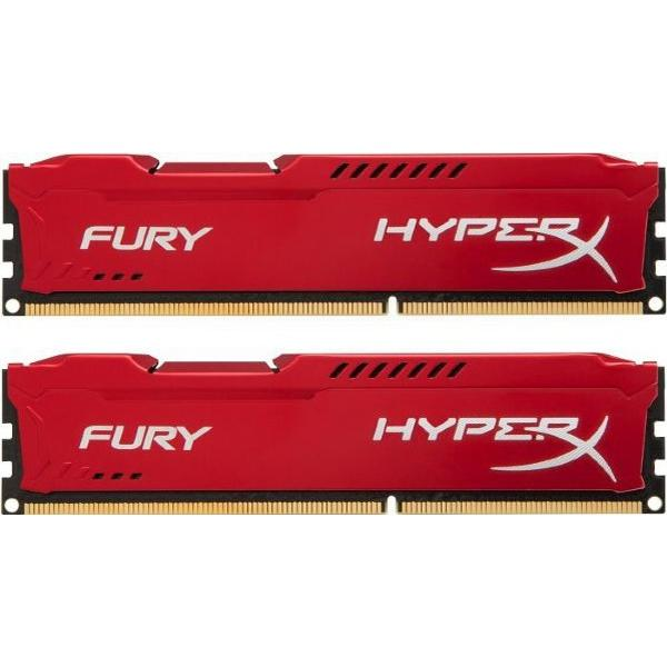 HyperX Fury Red DDR3 1333MHz 2x4GB (HX313C9FRK2/8)