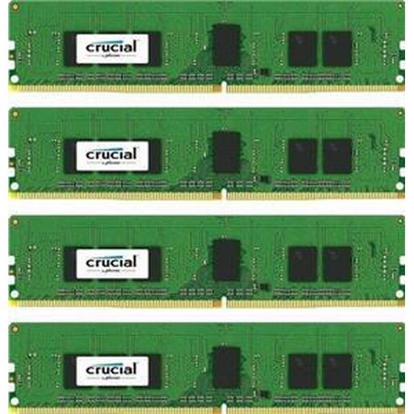 Crucial DDR4 2400MHz 4x4GB ECC Reg (CT4K4G4RFS824A)