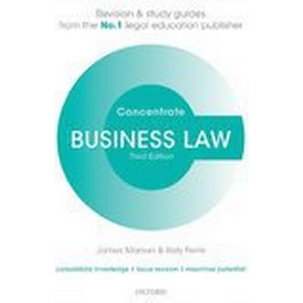 Business Law Concentrate (Häftad, 2016), Häftad
