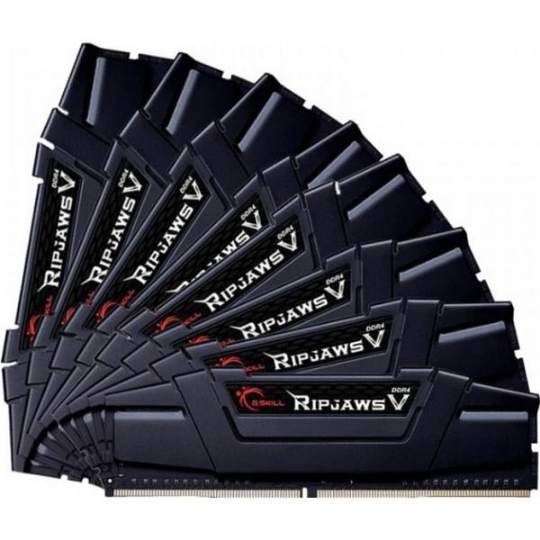 G.Skill Ripjaws V DDR4 3200MHz 8x8GB (F4-3200C14Q2-64GVK)