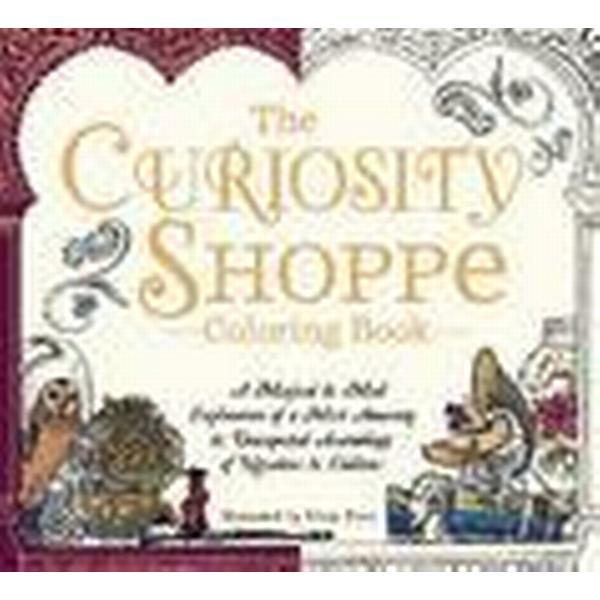 The Curiosity Shoppe Coloring Book (Häftad, 2016)