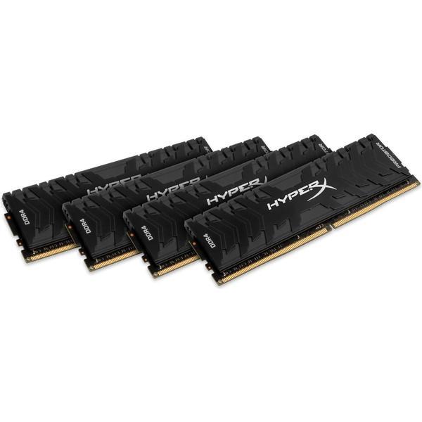 HyperX Predator Black DDR4 3000MHz 4x16GB for Intel (HX430C15PB3K4/64)
