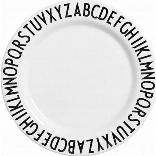 Design Letters Melamin Dinner Tallerken 24cm