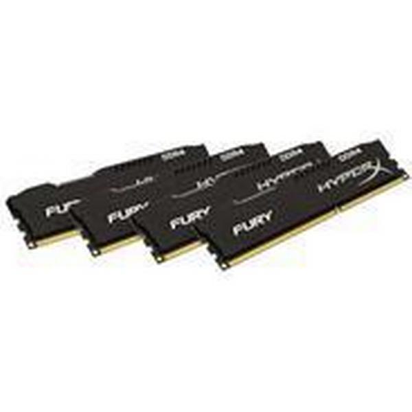 HyperX Fury Black DDR4 2400MHz 4x16GB (HX424C15FBK4/64)