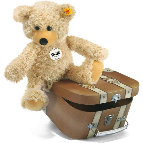Steiff Charly Dangling Teddy Bear in Suitcase 30cm