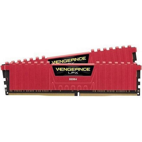 Corsair Vengeance LPX Red DDR4 3200MHz 2x16GB (CMK32GX4M2B3200C16R)