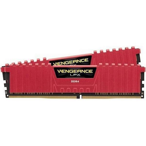 Corsair Vengeance LPX Red DDR4 3866MHz 2x4GB (CMK8GX4M2B3866C18R)