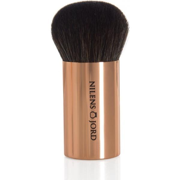 Nilens Jord Rose Gold Mineral Foundation Brush #127