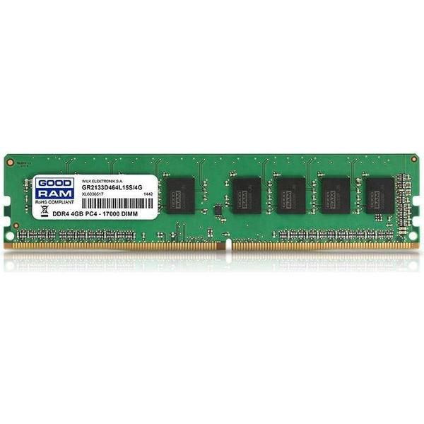 GOODRAM DDR4 2133 MHz 4GB (GR2133D464L15S/4G)