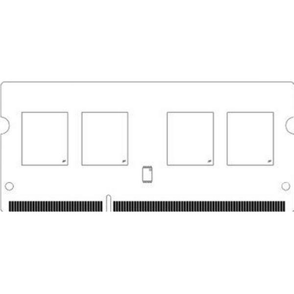 Micron DDR3L 1866MHz 4GB (MT8KTF51264HZ-1G9P1 )
