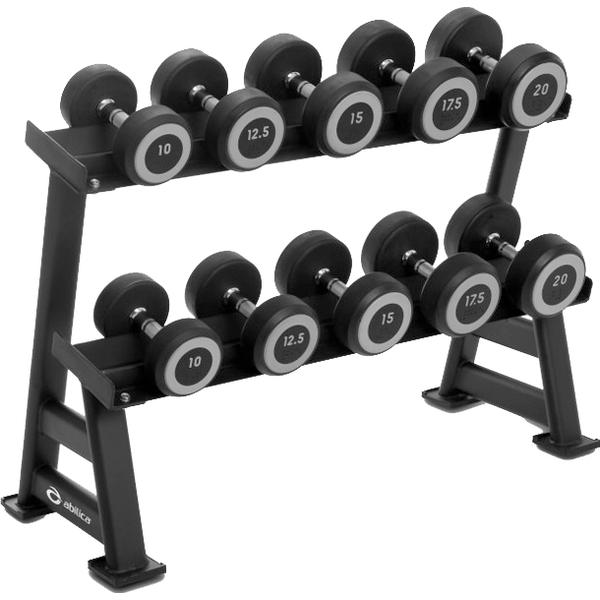 Abilica DumbbellRack Maxi Set Rubber 10-20 kg